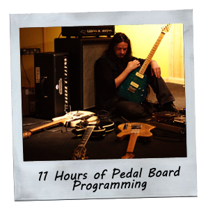 11 Hours of pedal board programming